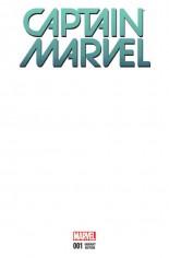Captain Marvel (2016-2017) #1 Variant C: Blank Cover