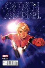 Captain Marvel (2016-2017) #1 Variant G: Incentive Variant Cover