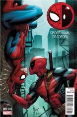 Spider-Man/Deadpool (2016-Present) #1 Variant J: GameStop Variant