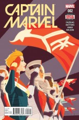 Captain Marvel (2016-2017) #2 Variant A
