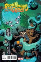 Rocket Raccoon And Groot (2016) #2 Variant B: Incentive Variant Cover