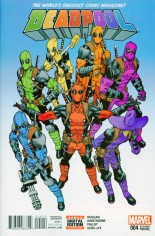 Deadpool (2016-2017) #4 Variant C: 2nd Printing