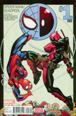 Spider-Man/Deadpool (2016-Present) #1 Variant K: 2nd Printing
