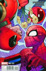 Spider-Man/Deadpool (2016-Present) #2 Variant C: Incentive Variant Cover