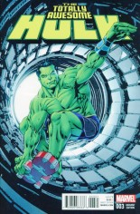 Totally Awesome Hulk #3 Variant C: Incentive Variant Cover