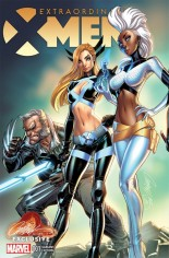 Extraordinary X-Men #1 Variant G: Interlocking Variant Cover