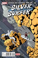 Silver Surfer (2016-Present) #2 Variant A