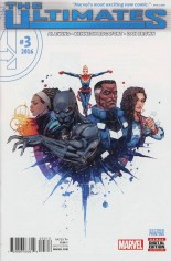 Ultimates (2016) #3 Variant D: 2nd Printing