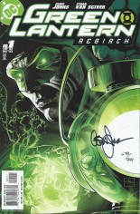 Green Lantern: Rebirth (2004-2005) #1 Variant B: DF Signed Edition; Signed By Geoff Johns