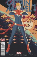 Captain Marvel (2016-2017) #1 Variant H: 2nd Printing
