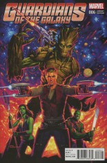 Guardians of the Galaxy (2015-2017) #6 Variant E: Incentive Classic Variant Cover