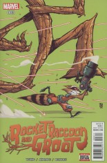Rocket Raccoon And Groot (2016) #3 Variant A