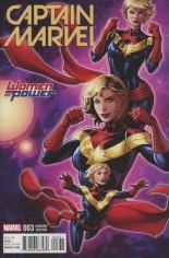Captain Marvel (2016-2017) #3 Variant B: Women of Power Cover