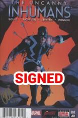 Uncanny Inhumans (2015-Present) #0 Variant H: DF Gold Elite Signature Series