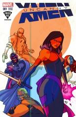 Uncanny X-Men (2016-2017) #1 Variant F: Fried Pie Comics Variant Cover