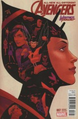 All-New, All-Different Avengers (2016-Present) #7 Variant B: Women of Power Cover