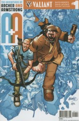 Adventures Of Archer And Armstrong #1 Variant A