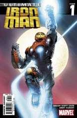 Ultimate Iron Man (2005-2006) #1 Variant B: Variant Edition