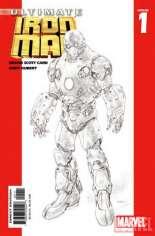 Ultimate Iron Man (2005-2006) #1 Variant C: 2nd Printing