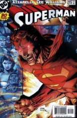 Superman (1987-2006) #215 Variant A: Red Eyes Cover