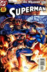 Superman (1987-2006) #215 Variant B: Fighting Zod Cover