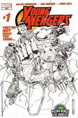 Young Avengers (2005-2006) #1 Variant C: Wizard World LA Exclusive Sketch Cover