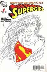 Supergirl (2005-2011) #1 Variant C: 2nd Printing