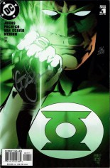 Green Lantern (2005-2011) #1 Variant E: DF Signed Edition; Signed By Geoff Johns