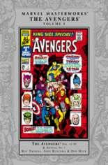 Marvel Masterworks: The Avengers (2003-Present) #HC Vol 5 Variant A: Silver Dust Jacket