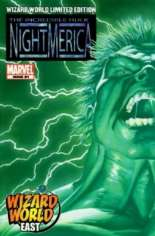 Hulk: Nightmerica (2003-2004) #1 Variant B: Wizard World East Limited Edition