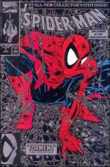 Spider-Man (1990-1998) #1 Variant E: Silver Edition; Not Polybagged; $1.75 Cover Price