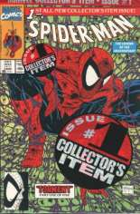 Spider-Man (1990-1998) #1 Variant D: Direct Edition; Green Cover; Polybagged