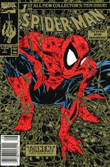 Spider-Man (1990-1998) #1 Variant I: 2nd Printing; Newsstand Edition; Gold Cover; Limited to 10,000 Copies