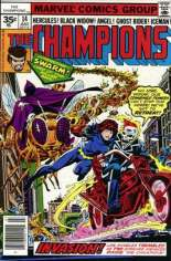Champions (1975-1978) #14 Variant B: 35 Cent Variant