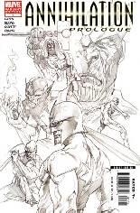 Annihilation: Prologue (2006) #1 Variant B: Sketch Variant