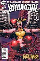 Hawkgirl (2006-2007) #50 Variant A: Continued from ''Hawkman (2002-2006)''