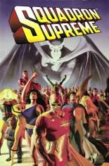 Squadron Supreme (1985-1986) #TP Variant A: Mark Gruenwald's ashes were mixed into the ink of the 1st Printing in accordance with his wishes