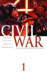 Civil War (2006-2007) #1 Variant A