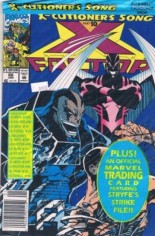 X-Factor (1986-1998) #86 Variant B: Newsstand Edition; Polybagged w/ Card