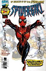 Spider-Girl (1998-2006) #1 Variant B: Signed by Tom DeFalco and Pat Olliffe; Limited to 2,500