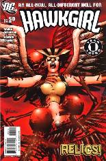 Hawkgirl (2006-2007) #50 Variant B: 2nd Printing; Continued from ''Hawkman (2002-2006)''