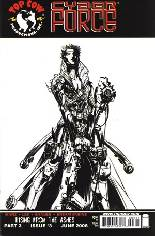Cyberforce (2006) #3 Variant B: Incentive B&W Cover