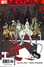 Nextwave: Agents of H.A.T.E. (2006-2007) #5 Variant A