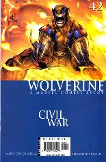 Wolverine (2003-2009) #42 Variant A