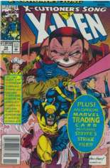 X-Men (1991-2001, 2004-2008) #14 Variant B: Newsstand Edition; Polybagged w/ Card