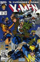 X-Men (1991-2001, 2004-2008) #16 Variant C: Direct Edition; Not Polybagged