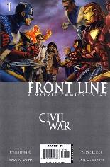 Civil War: Front Line (2006-2007) #1 Variant A