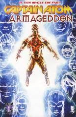 Captain Atom: Armageddon #9: Warparound Cover