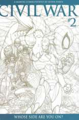 Civil War (2006-2007) #2 Variant C: 1:75 Variant Sketch Edition