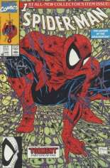Spider-Man (1990-1998) #1 Variant K: Green Cover; Stamped on Back by Todd MacFarlane's Comic Shop; Signed by Todd MacFarlane w/ COA